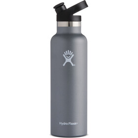 Hydro Flask Standard Mouth Sport Bottle 21oz (621ml) Graphite